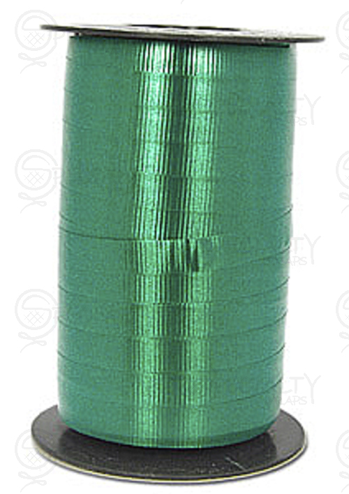 "Crimped Curling Ribbon, 3/8"", Hunter"