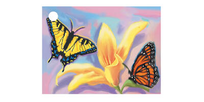 Gift Card - Printed, Butterfly