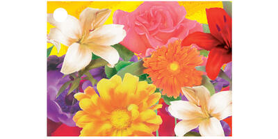 Gift Card - Printed, Flowers