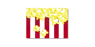 Gift Card - Printed, Popcorn