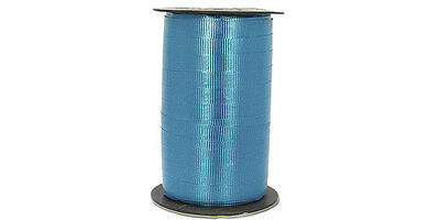 "Crimped Curling Ribbon, 3/16"", Teal"