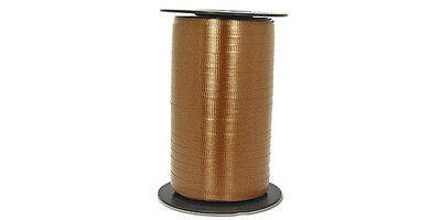 "Crimped Curling Ribbon, 3/16"", Chocolate"