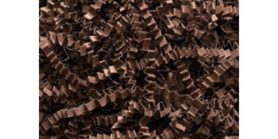 Crinkle Cut Paper Shred, Chocolate, 10#