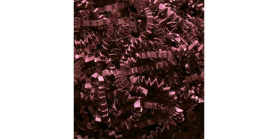 Crinkle Cut Paper Shred, Burgundy, 10#
