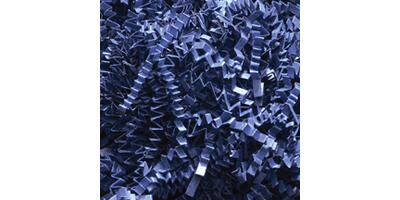 Accordion Paper Shred, Navy, 25#